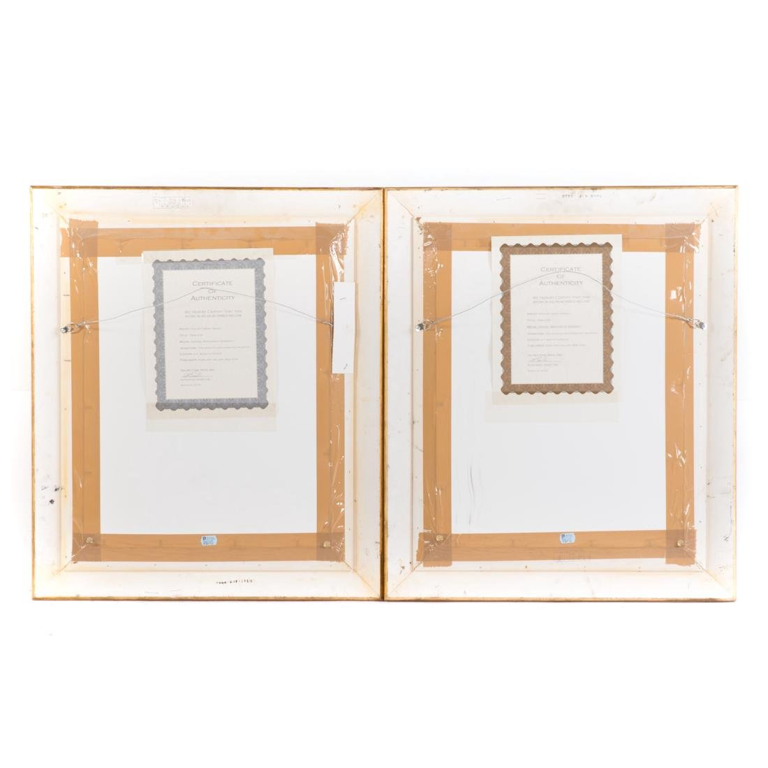 Isaac Tarkay. Seated Ladies, pair of serigraphs - 4
