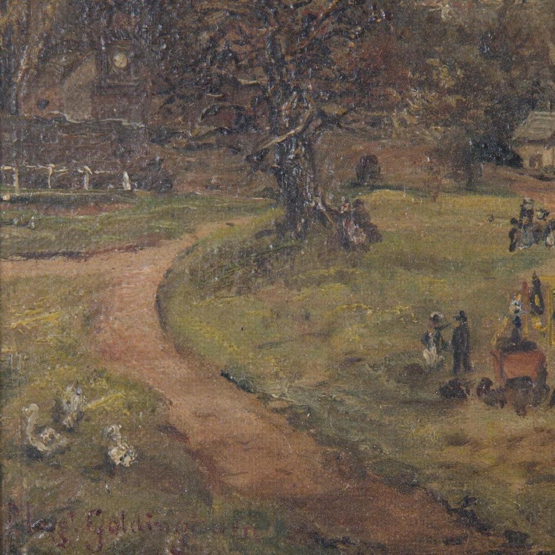 Margaret Goldingham. County Fair, oil on canvas - 2