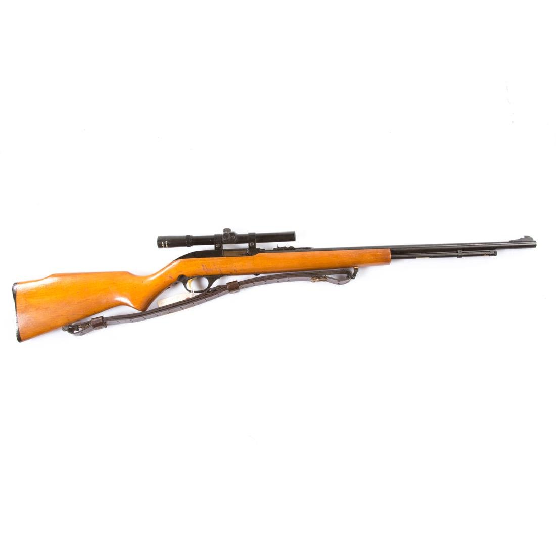 Marlin Rifle with scope