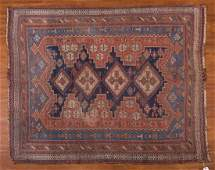Antique Afshar rug approx 49 x 59