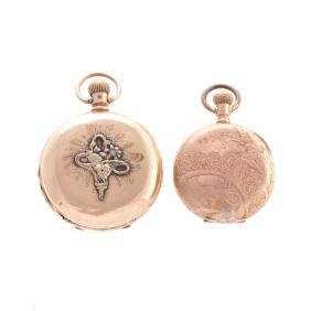 A Pair of Elgin Pocket Watches