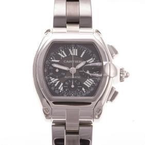 A Gent's Cartier Roadster Wristwatch