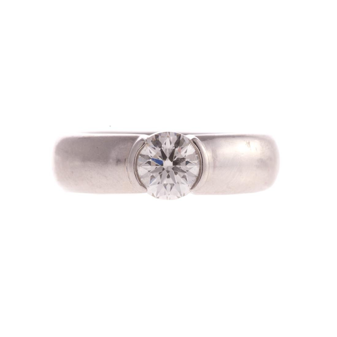 A Platinum 1.12ct Etoile Ring by Tiffany & Co