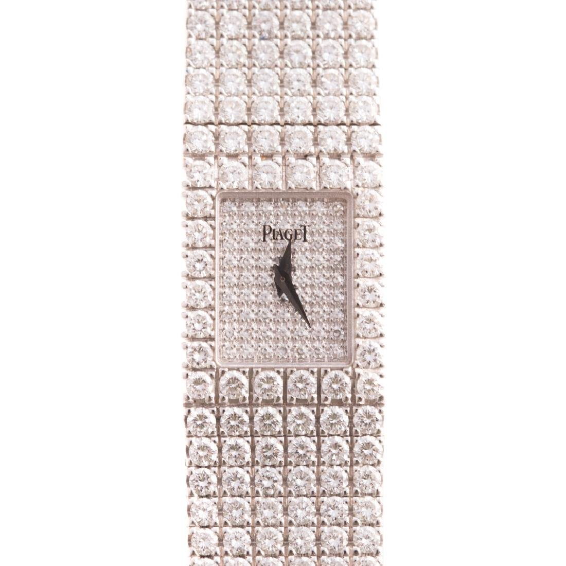 "A Lady's Diamond ""Tradition"" Wrist Watch by Paiget"