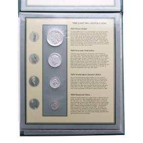 [US] Silver Coin & Certificate Set
