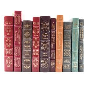 Easton Press, 10 vols., Economics, etc.