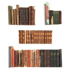 Lot of misc. 19th century books