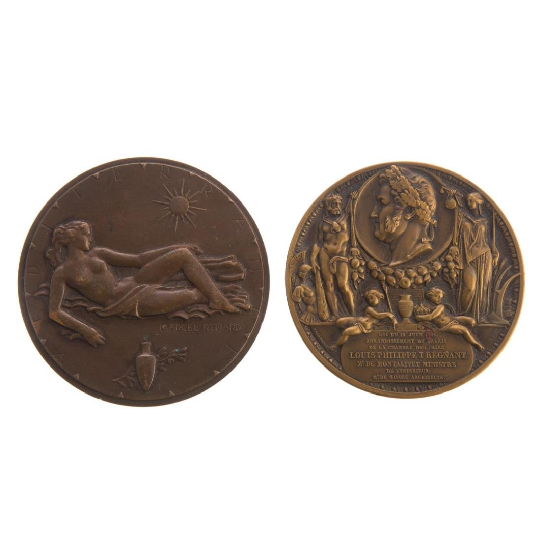 Medals, French, Louis Phillipe I Regant