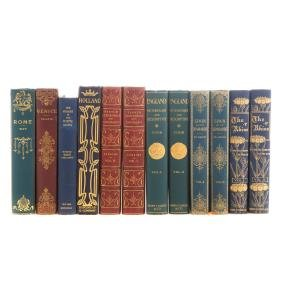 Travel Books, 19th & 20th Century, Deluxe Bindings
