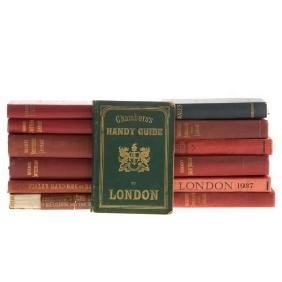 Travel Books, Great Britain, Six titles
