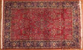 Indo Sarouk rug, approx. 4 x 6