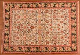 Unusual antique Korabaugh rug, approx. 4.4 x 6.6