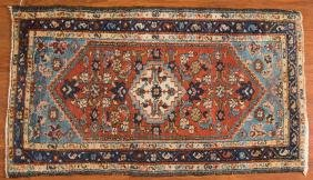 Semi-antique Hamadan rug, approx. 2.4 x 4.2