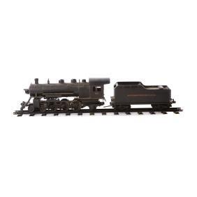 Buddy L pressed steel outdoor locomotive & tender
