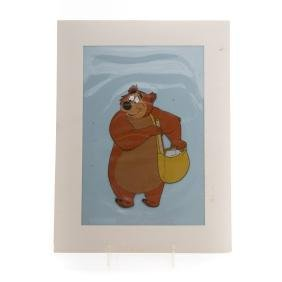 Walt Disney animation cel of Humphrey Bear