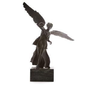 Classical style bronze figure of Nike
