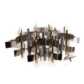 Gaetano Sciolari contemporary 8-light chandelier
