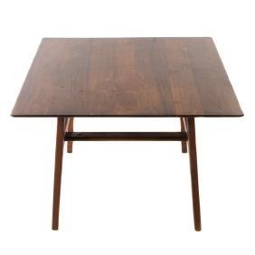 Danish Modern walnut coffee table