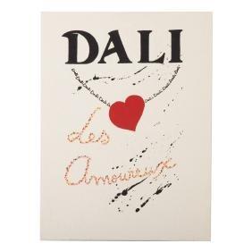 """Salvador Dali. """"Les Amoureux"""" lithograph portfolio"""