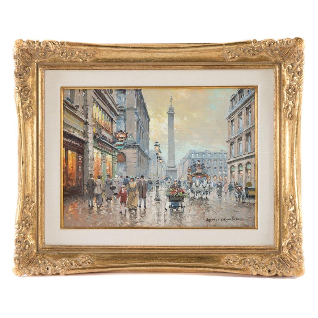"Antoine Blanchard. ""Place Vendome"", oil"