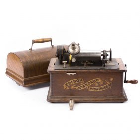 Edison Standard Model A phonograph