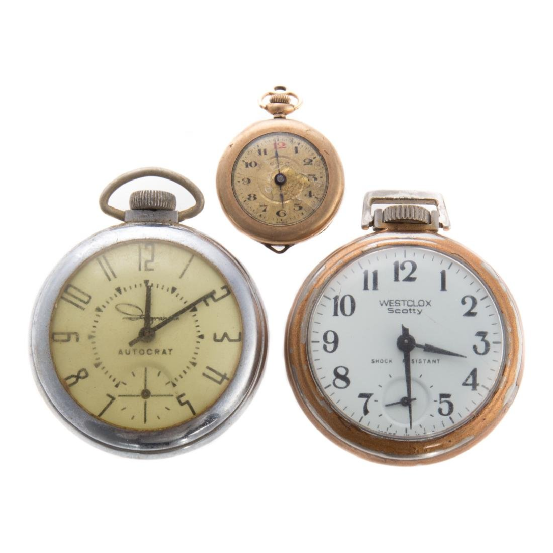 A Trio of Vintage Pocket Watches