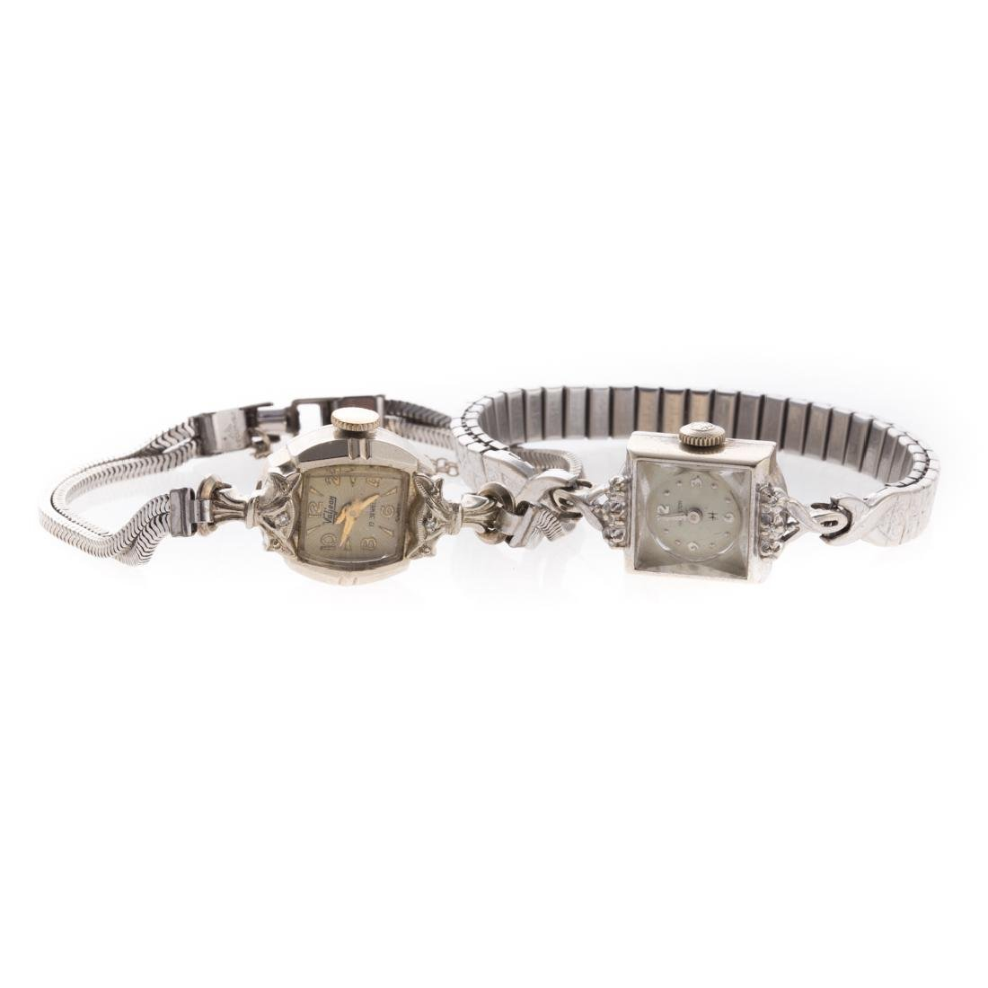 Two Lady's Vintage Watches in 14K & 10K Gold