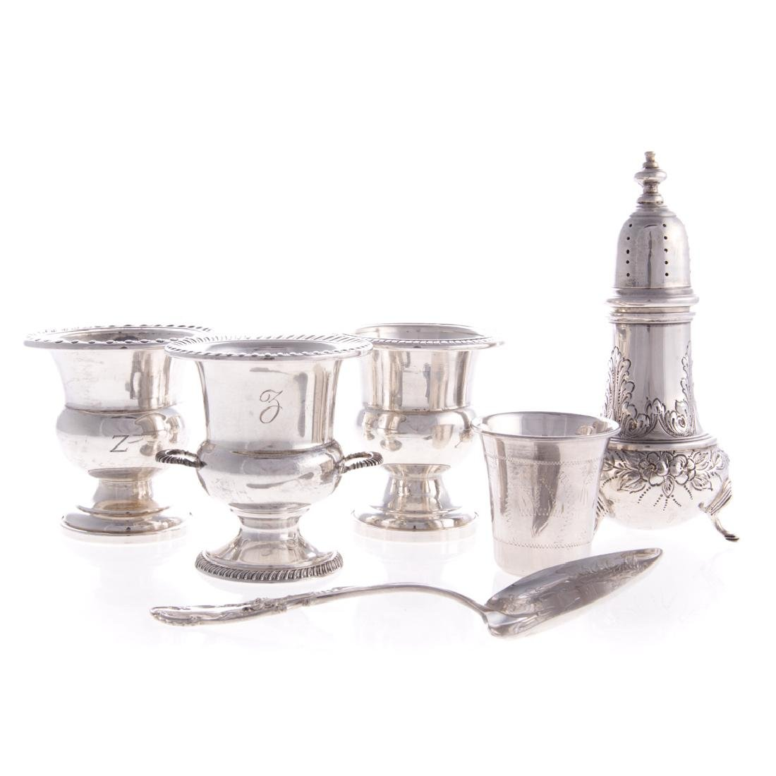 Sterling & weighted sterling table articles