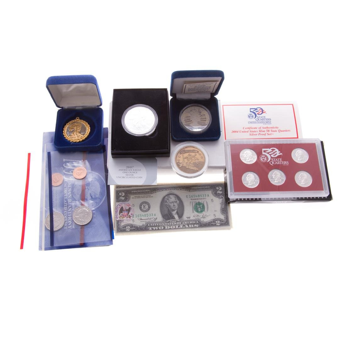 [US] Miscellaneous Coins and silver