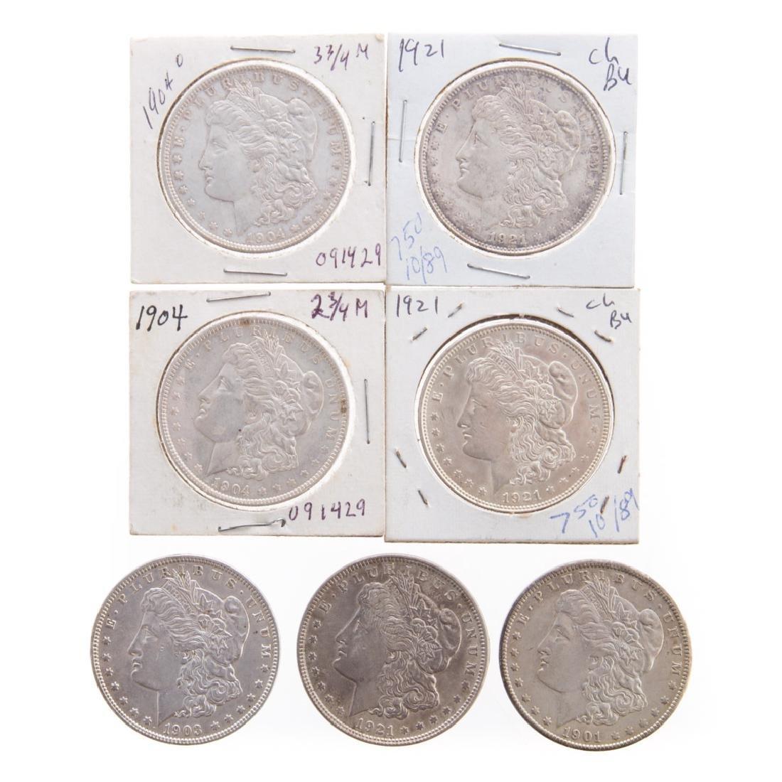 [US] Seven better Morgan Dollars