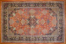 Persian Keshan carpet approx 910 x 146