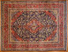 Persian Keshan carpet approx 95 x 126