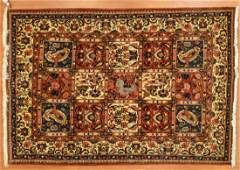 Persian Bahktiari rug, approx. 4.4 x 6.5