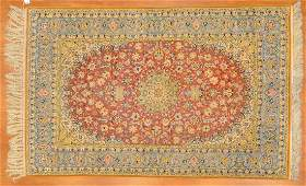 Fine Persian Ispahan rug approx 410 x 78