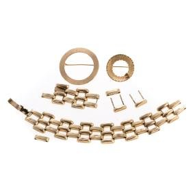 A Selection Of 14K Gold Jewelry