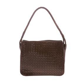 A Bottega Veneta Intrecciato Shoulder Bag
