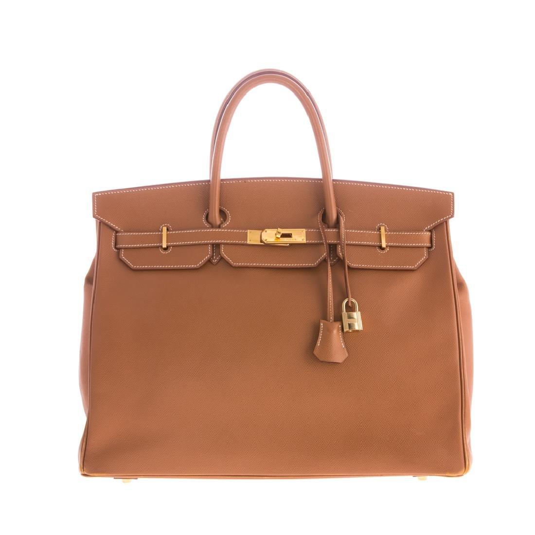 A Hermès Epsom Birkin 40