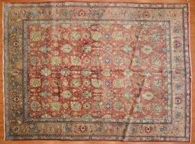 Persian Tabriz Carpet, Approx. 9.5 X 12.6