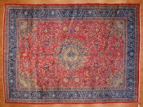 Persian Meshed Carpet, Approx. 9.9 X 13.6
