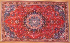 Persian Meshed Rug, Approx. 4.9 X 8.1