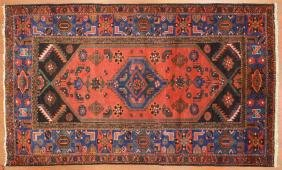 Persian Hamadan Rug, Approx. 4.3 X 7.1