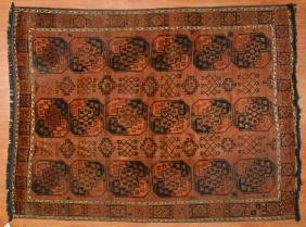 Antique Afghan Rug, Approx. 7.4 X 10