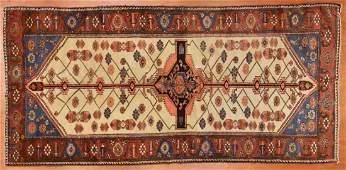Antique Bahktiari rug, approx. 4.6 x 9.7