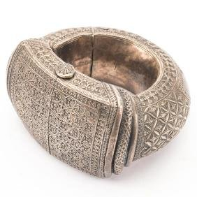Omani Silver Anklet