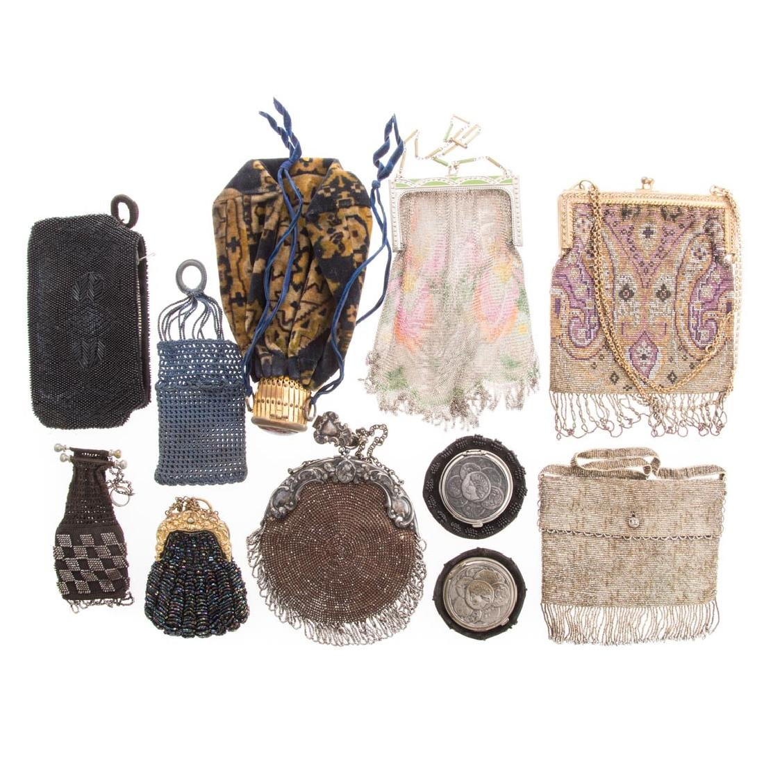 Collection antique and vintage purses
