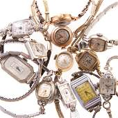A Collection of Ladys Vintage Wrist Watches