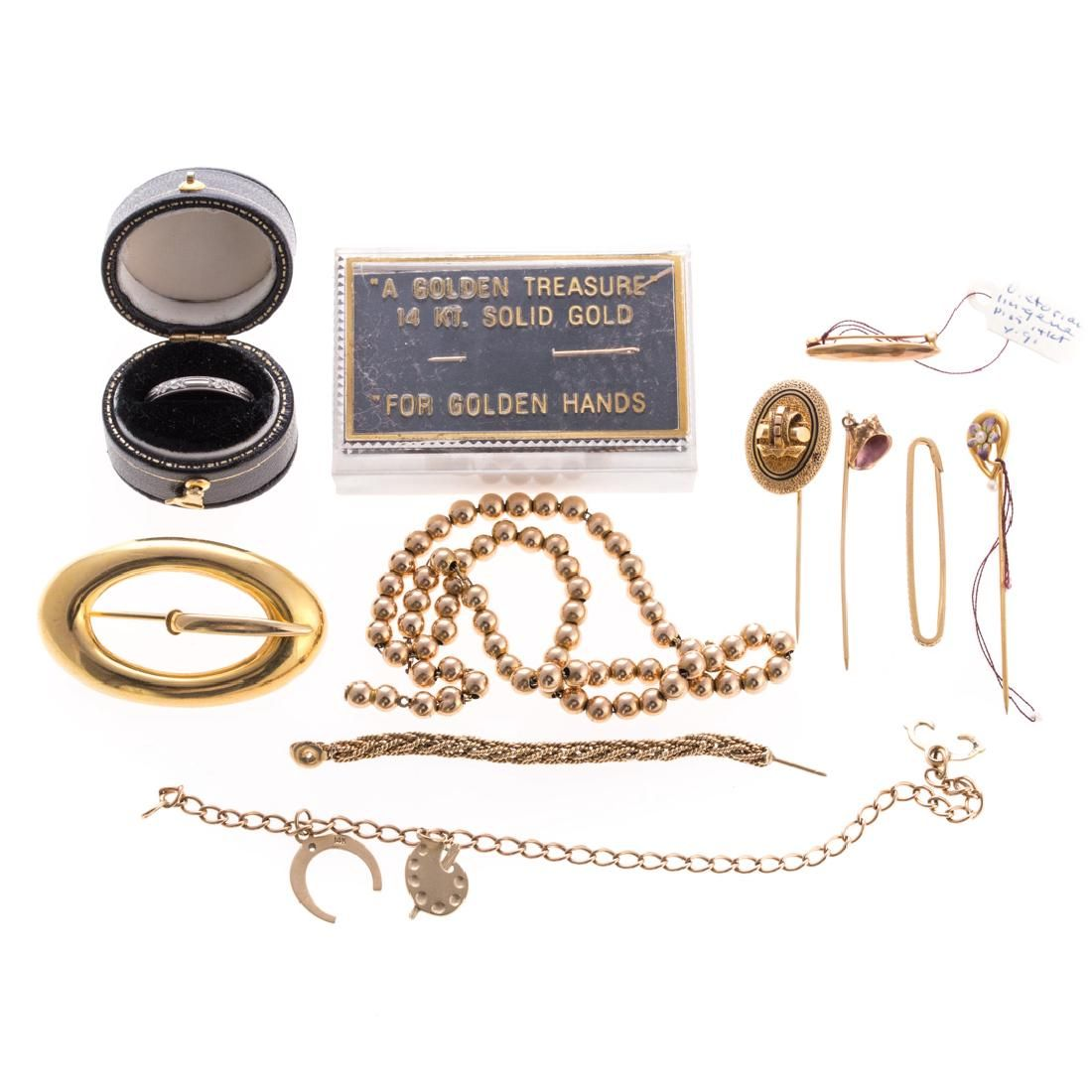 A Collection of Lady's Vintage Jewelry