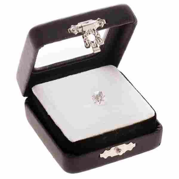 A 1.13 ct. GIA Certified Round Brilliant Diamond