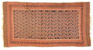 Antique Kurdish rug, approx. 5 x 9.8