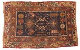 Antique Kazak rug, approx. 3.5 x 5.4
